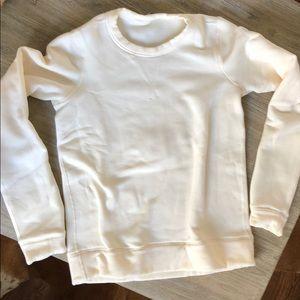 NWOT Lululemon Cream Sweatshirt